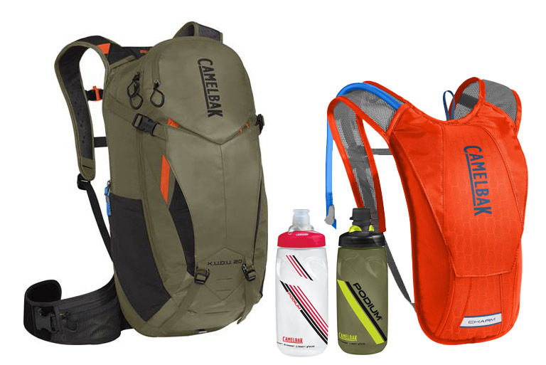 Hydration packs and nutrition